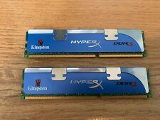 Kingston HyperX DDR3 RAM Memory 2 x 2GB KHX1600C9D3K2/4G