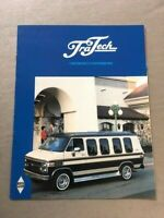 1985 Chevrolet Conversion Van by TraTech Original Sales Brochure Catalog - Chevy