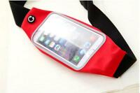 Running Jogging Sports Gym Waist Belt Soft Bum Bag Case Cover Strap For phones
