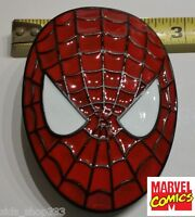 Spider-Man collectible metal Belt BUCKLE  Spidey Spider man Spiderman Cosplay