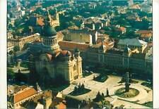 Cluj Napoca Romania Orthodox Cathedral aerial view postcard