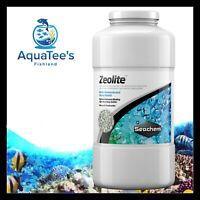 Seachem Zeolite 1 LTR Absorbs Ammonia Heavy Metal Filter Fish Tank Pond Aquarium