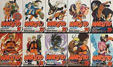 Naruto Manga (English): Volumes 21, 22, 23, 24, 25, 26, 27, 28, 29, 30