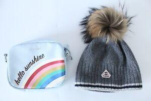 Cath Kidston Hello Sunshine Bag x1pc, Pyrenex Womens Grey Aboa Beanie x1pc