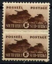 South Africa 1942-4 SG#104, 1s War Effort MH Pair #D53103