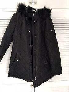 dkny ladies coat L