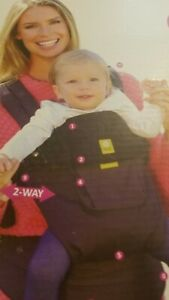 LILLE baby Carrier-  6-Position Complete 100% cotton- new bprn to 48 months