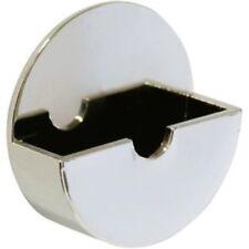 Bath Kitchen Sink Plug Holder Tidy Self Adhesive Chromed Chrome Plated