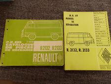 R1272 de 1976 1979 R1271 Manuel d/'atelier RENAULT 20 P.R.1020