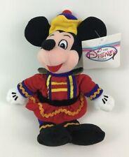 "New listing Disney Store Nutcracker Mickey Mouse Bean Bag 10"" Plush Stuffed Toy w Tags"