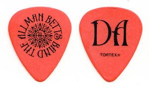 Allman Betts Band Devon Allman Signature Orange Guitar Pick - 2020 Tour