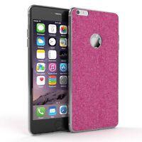 Schutz Hülle für Apple iPhone 6 / 6S Plus  Glitzer Cover Handy Case Pink