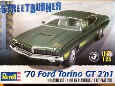 Revell Monogram 1:25 '70 Ford Torino GT Car Model Kit