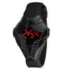 LED Digital Watch Men's Cobra Triangle Dial Silicone Sports Watches Fashion  WOW