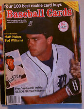BASEBALL CARDS MAGAZINE APRIL 1988 VINTAGE MLB MATT NOKES DETROIT TIGERS