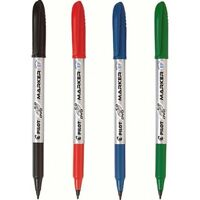 Pilot CD DVD OHP Marker Pen Permanent Marker Glass Plastic Markers