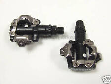 Shimano PD M520 SPD Clipless MTB Pedals + Cleats - Black