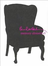 PAUL MCCARTNEY MEMORY ALMOST FULL 2 CD SET DELUXE LIMITED EDITION SEALED