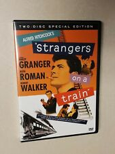Strangers on a Train (Dvd, 2004, 2-Disc Set) Alfred Hitchcock