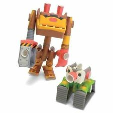 PIPEROID Dr.Penk & Bearborg  Pappercraft Robot Toy