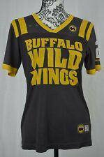 Buffalo Wild Wings 82 B-Dubs Employee V Neck Football Jersey Size Small