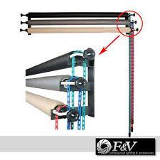 Hintergrundsystem 3-fach - Kette Montageset zur Befestigung an Wand oder Decke