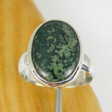 18x14mm Oval Kambeebe Jasper Gemstone Statement Ring Genuine 925 Sterling Silver