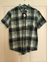 Excellent Short sleeve Boohoo Size M Mens Check Shirt
