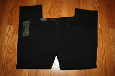 NWT Mens URBAN STAR JEANS Relaxed Fit BLACK Wash Jeans Size 30 W 34 L