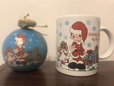 New Precious Moments Christmas Home For The Holidays Mug And Ornament Set 184357