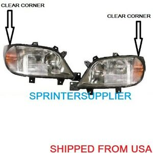 SPRINTER ELECTRIC HEADLIGHT PAIR fits MERCEDES DODGE 1995 - 2006