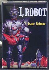 "I, Robot Book Cover 2"" X 3"" Fridge / Locker Magnet. Asimov Classic Sci Fi"