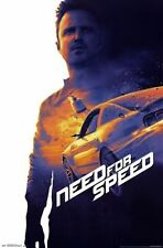 DREAMWORKS NEED FOR SPEED MOVIE KEY ART POSTER NEW 22X34 FREE SHIPPING
