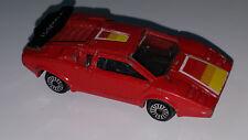 ZEE ZYLMEX LAMBORGHINI VINTAGE 1980 D61 MINT LOOSE HTF RED CAR COLLECTOR