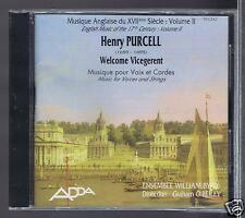 PURCELL CD (NEW)  VOL 2/ MUSIC FOR VOICES & STRINGS/ ENSEMBLE WILLIAM BYRD