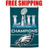 Philadelphia Eagles Flag SUPER BOWL 52 LII Champions 2017 Banner 3X5 ft Deluxe
