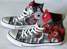 Chuck Taylor All Star Converse DC Comics Flash Size Mens 6 / Womens 8