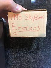 1995-96 Skybox Emotion Basketball Complete 121 Card Set Michael Jordan