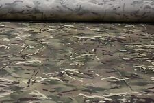 "12 Yards MTP British Camo 1000D Outdoor Fabric 60""W Cordura Nylon Military DWR"