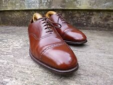 CHEANEY/CHURCH VINTAGE OXFORD CHAUSSURES – MARRON/FONCÉ EU 42 –EXCELLENT ÉTAT
