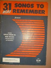 Standard Organ: 31 More Songs To Remember