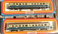 Märklin 3028+ Märklin 4028 H0 Akku-Triebwagen BR 515/815 DB Epoche 4 sehr gut