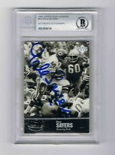 1997 Upper Deck Legends GALE SEYERS Card.   AUTOGRAPHED *FREE SHIPPING*