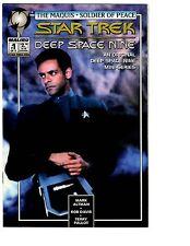 3 Star Trek: DS9 Maquis Soldier of Peace Malibu Comic Books # 1 2 3 Bashir BH3