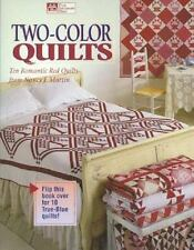 Two-Color Quilts: Ten Romantic Red Quilts and Ten True Blue Quilts, Nancy J. Mar
