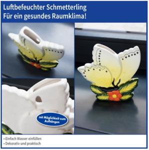 Luftbefeuchter Schmetterling Heizung Keramik Wasserverdunster Luftentfeuchter