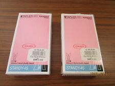 2 Design Stapler, Tacker - Kangaro - Standy-45 - beige - unbenutzt + OVP  /S102