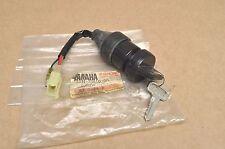 NOS New Yamaha 1985 YFM200 Moto-4 Main Ignition Switch Assembly & Key Set #3122