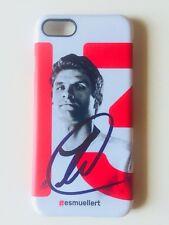Thomas Müller iPhone 7 Handyhülle / Case mit Original Unterschrift Autogramm WM