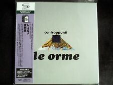Le Orme - Contrappunti Japan SHM-CD Mini LP OBI Brand New UICY-94526
